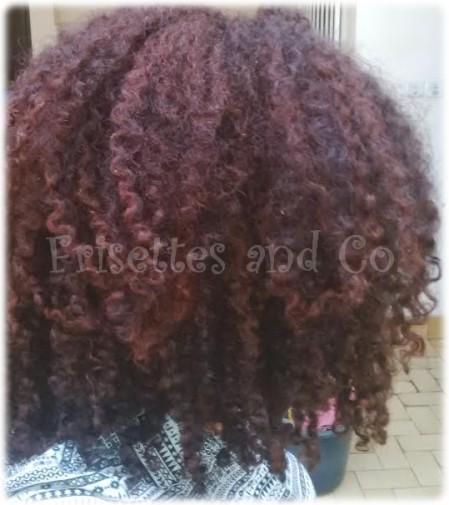 Coloration henne sur cheveux sec ou humide
