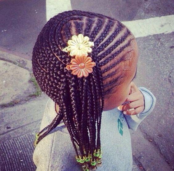tresses africaine pour petite fille 2016